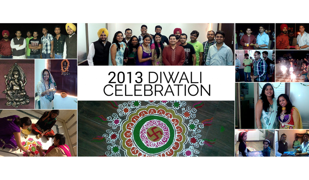 Diwali celebration 2013