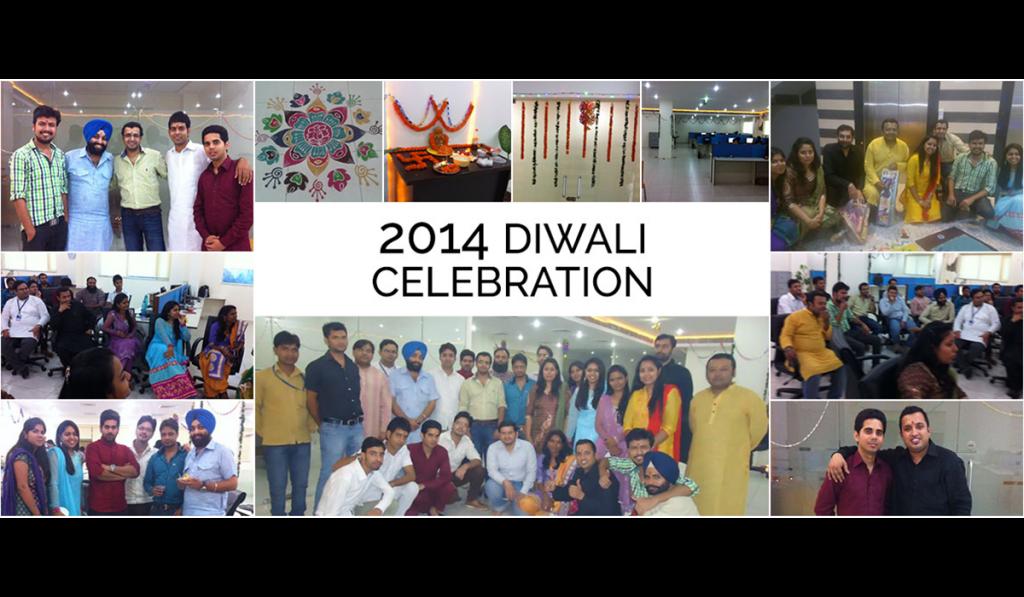 Diwali celebration 2014