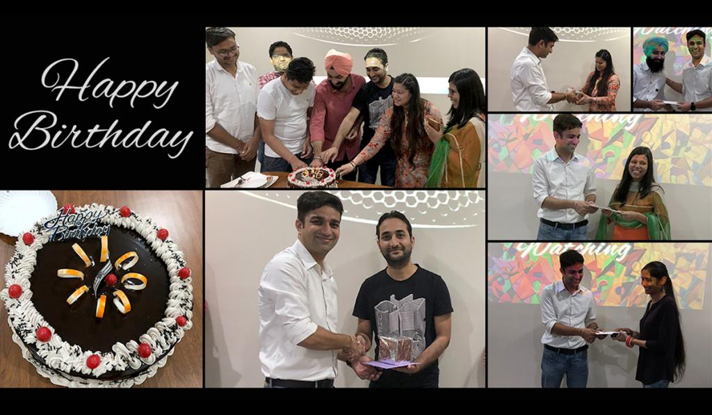 Birthday celebration February 2018