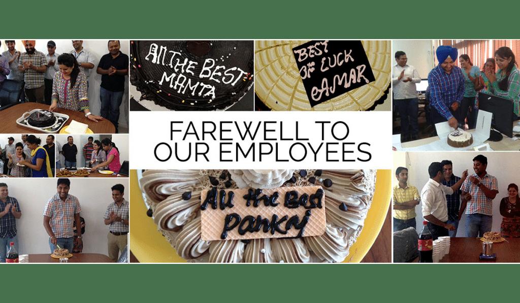 Farewell ceremony