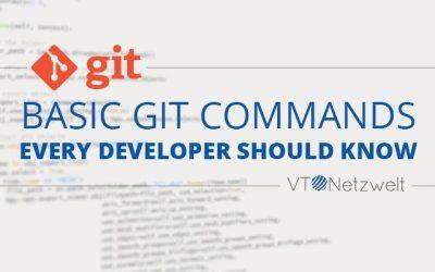 Basic Git Commands Every Developer Should Know