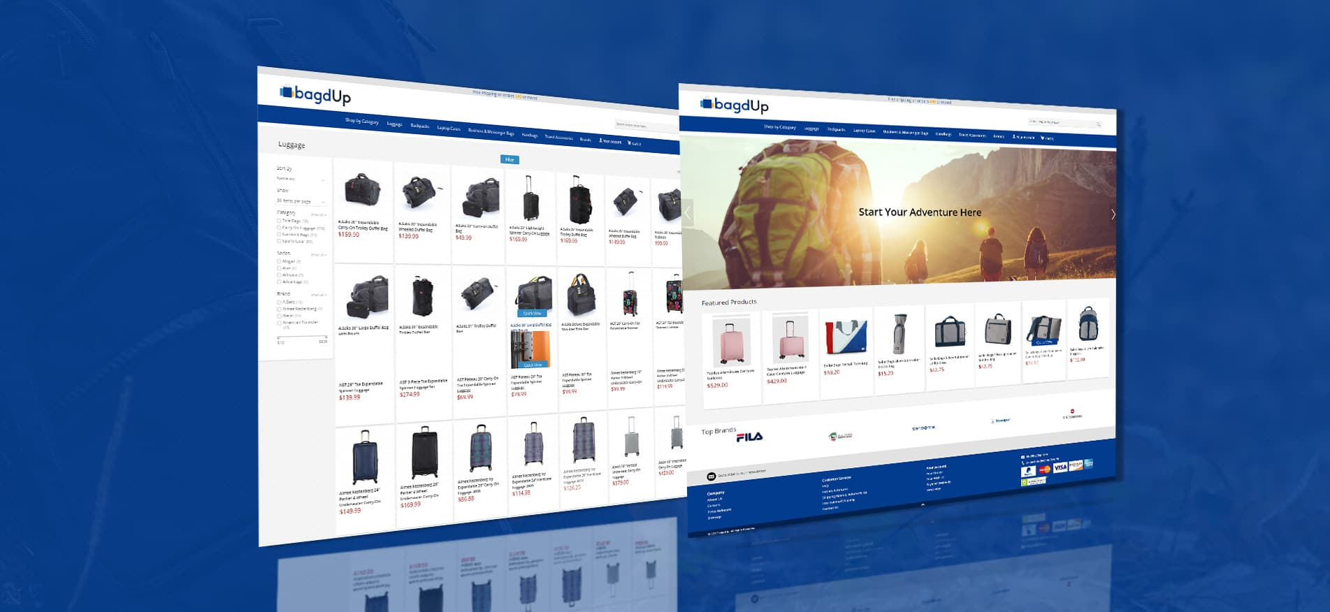 bagdUp eCommerce Development