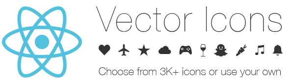 REACT NATIVE VECTOR ICONS