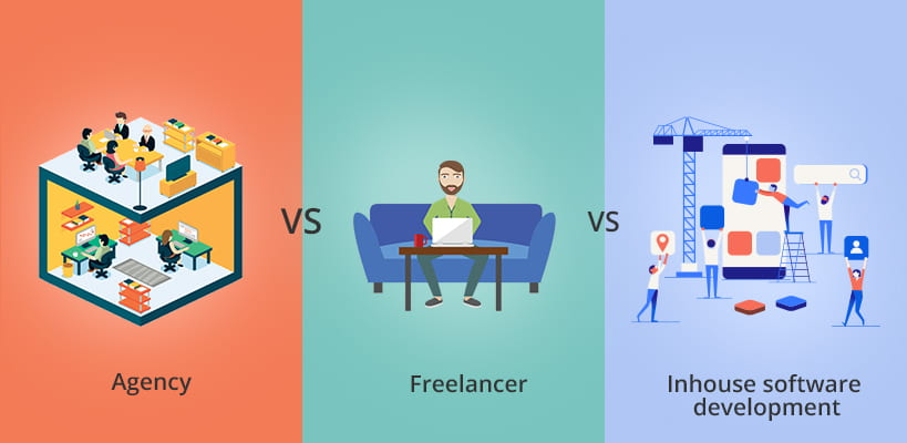 Agency vs Freelancer vs Inhouse Software Development