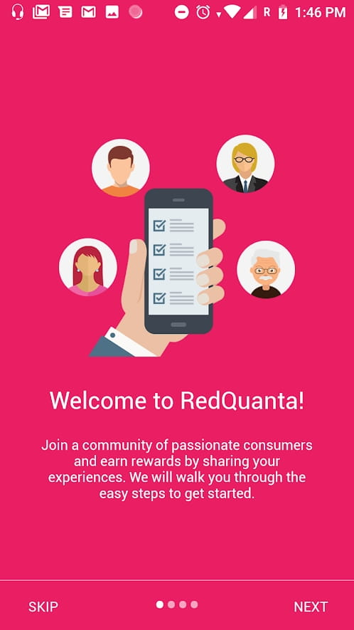 Redquanta iOS & Android app development