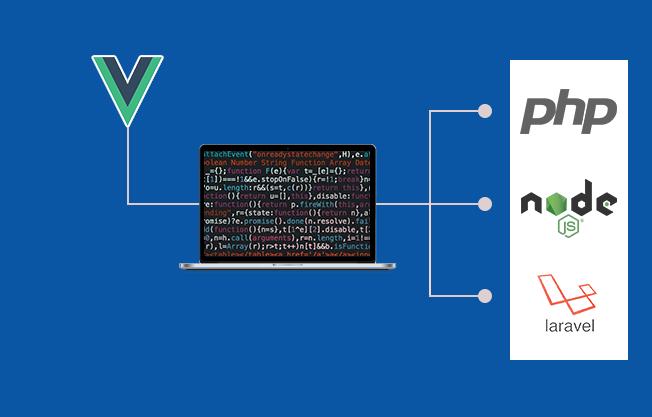 Vue.js app development